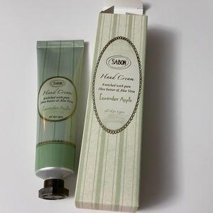 Sabon Lavender Apple Hand Cream Brand New